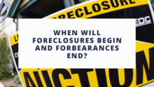 when will foreclosures resume