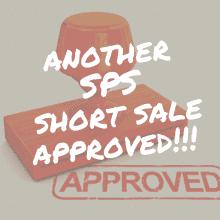 sps short sale approval stamp